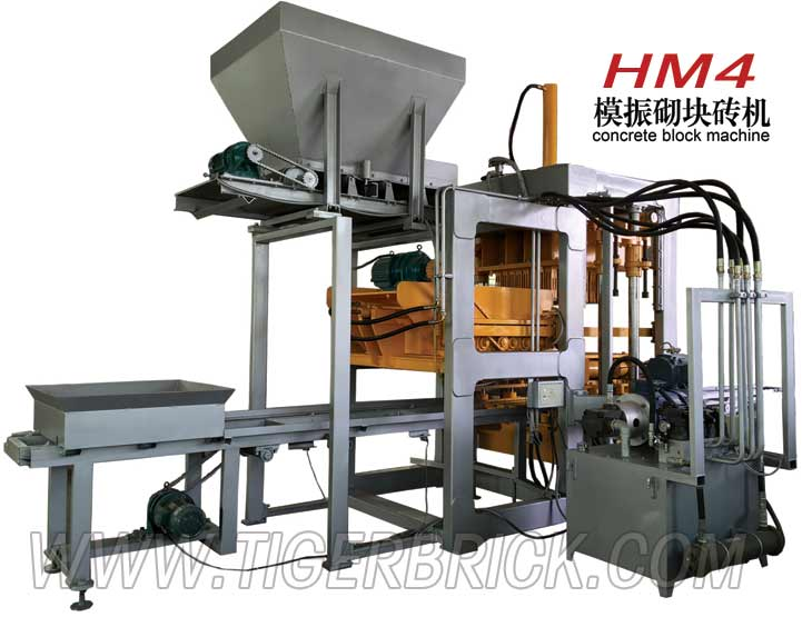 HM4 block making machine