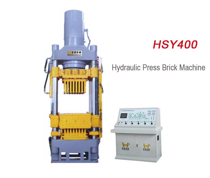 HSY400 Hydraulic Press Block Machine